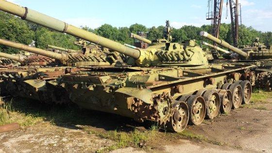 Juozapas.lt nuotr./Apleista karinė technika Ukrainoje