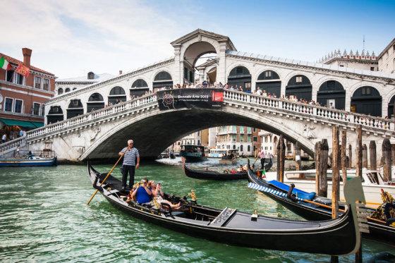 123rf.com/Venezijos žymusis tiltas