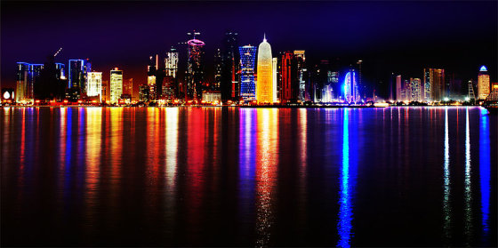 Wikimedia.org nuotr./Doha naktį