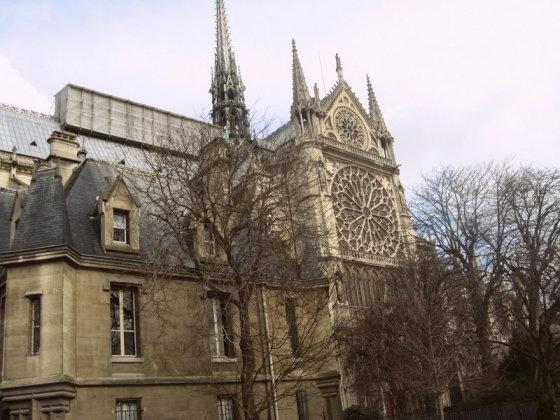 R.Trukanavičiūtės nuotr./Dievo Motinos katedra Paryžiuje (2)