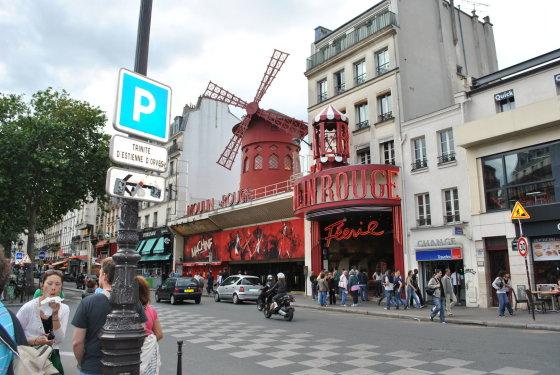 Antano Siručio nuotr./Žymus Paryžiaus kabaretas