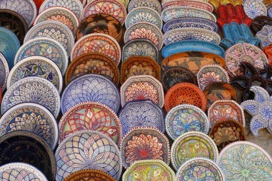 Liucijos Mazaliauskaitės nuotr./Tuniso medinos spalvos