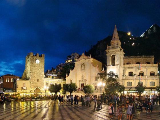 Wikimedia.org nuotr./Taorminos miesto aikštė