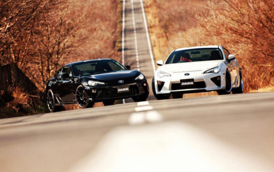 """Gamintojo nuotr./""""Toyota GT86"""" su """"DAMD"""" paketu"""