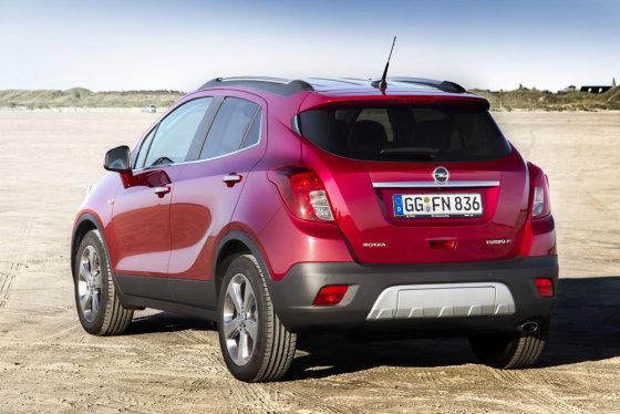 "Gamintojo nuotr./""Opel Mokka"""