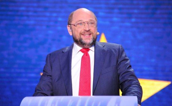 """Scanpix"" nuotr./Socialistų kandidatas, Europos Parlamento pirmininkas Martin Schulzas"