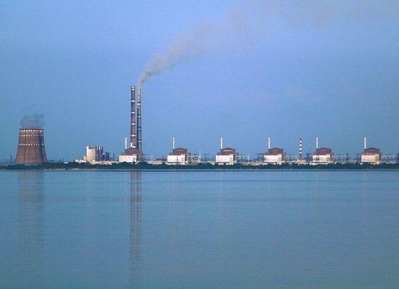 Didžiausia Europoje Zaporožės atominė elektrinė