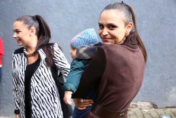 Luko Balandžio/Žmonės.lt nuotr./Ieva Mackevičienė su sūnum Motiejum