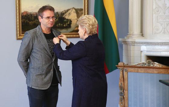 Luko Balandžio/Žmonės.lt nuotr./Marijus Mikutavičius ir Dalia Grybauskaitė