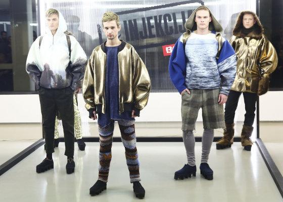 Luko Balandžio/Žmonės.lt nuotr./Liucijos Kvašytės kolekcijos modeliai