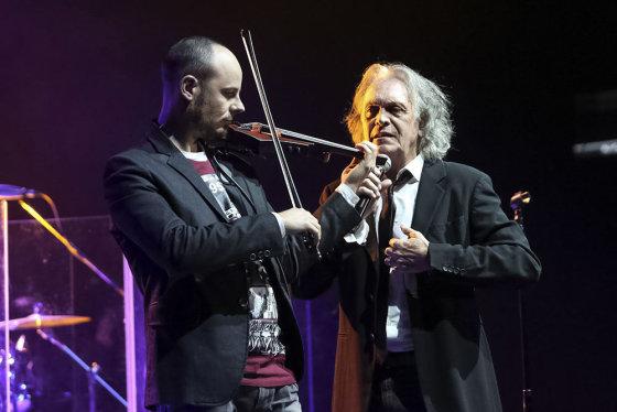 Teodoro Biliūno/Žmonės.lt nuotr./Riccardo Fogli koncertas Kaune