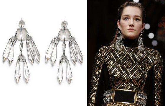 Scanpix ir zara.com nuotr./Iš kairės: Zara ir Balmain modelis Paryžiaus mados savaitėje
