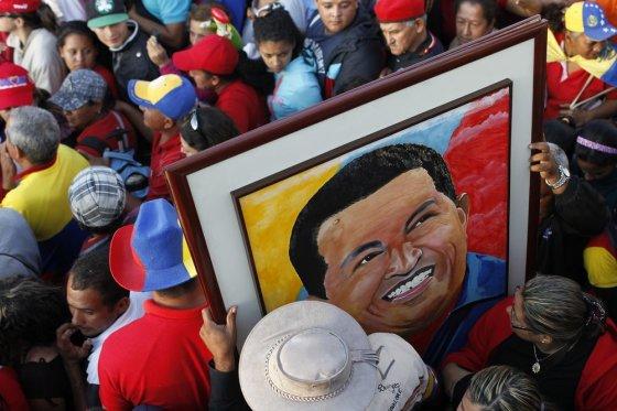"""Scanpix"" nuotr./Hugo Chavezo laidotuvės"