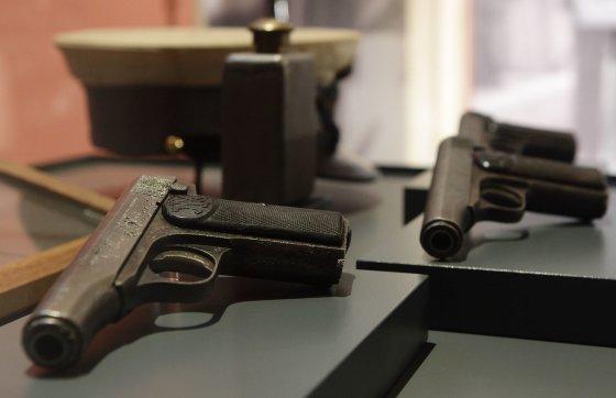 """""""Reuters""""/""""Scanpix"""" nuotr./Pistoletai, kuriais nušautas erchercogas Pranciškus Ferdinandas"""