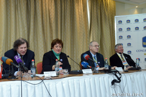 ICES nuotr./Tarptautinis rinkimų ekspertų centras Armėnijoje