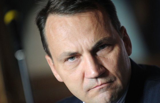 """AFP/""""Scanpix"""" nuotr./Lenkijos užsienio reikalų ministras Radoslawas Sikorkis"""