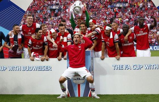 """""""Reuters""""/""""Scanpix"""" nuotr./Londono """"Arsenal"""" triumfas"""