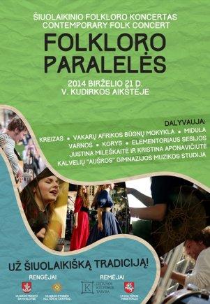 Folkloro paralelės