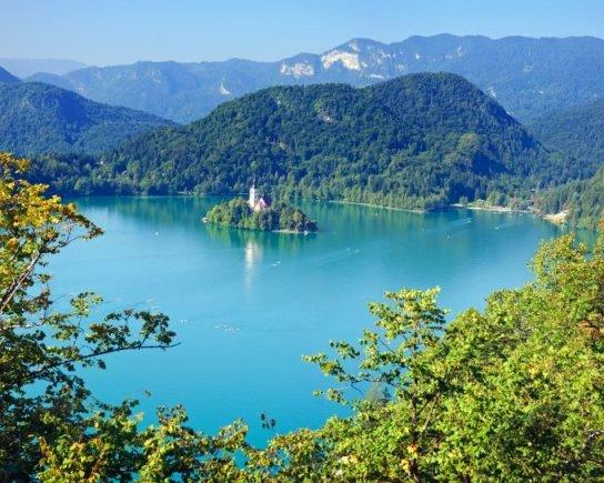 Fotolia nuotr./Bledo ežeras Slovėnijoje
