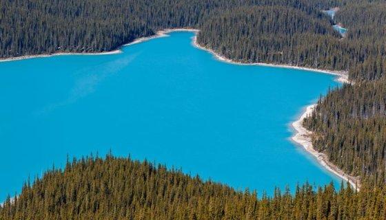 Fotolia nuotr./Peito ežeras Kanadoje