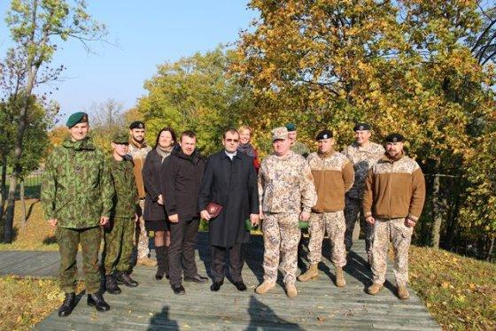 Organizatorių nuotr./Latvijos kariuomenės kapelionų vizitas