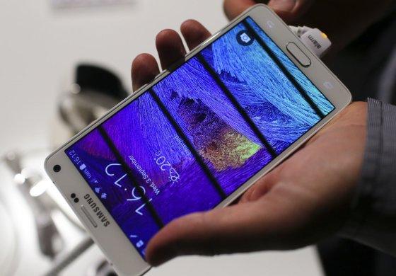 Scanpix/Samsung Galaxy Note 4