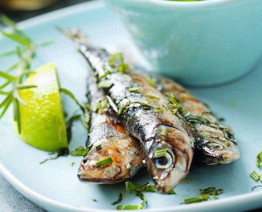 Fotolia nuotr./Keptos sardinės su jogurto padažu