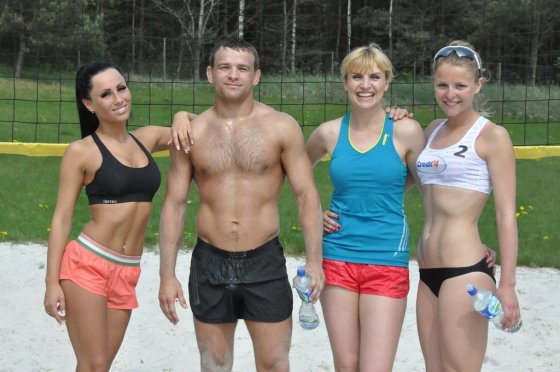 TV3 nuotr./Greta Lebedeva, Aleksandras Kazakevicius, Vlada Musvydaitė ir Monika Povilaitytė