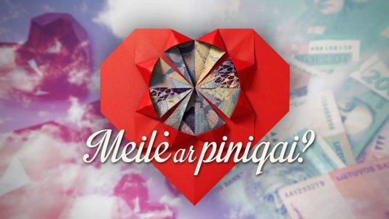 """TV3 nuotr./Realybės šou """"Meilė ar pinigai?"""" logotipas"""