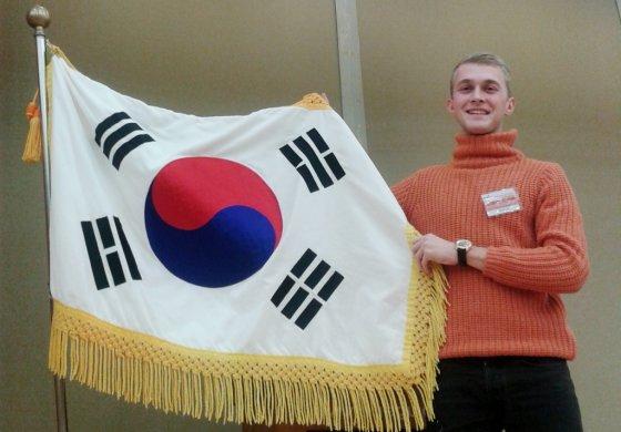 KTU studentas Justinas Grybas Pietų Korėjoje