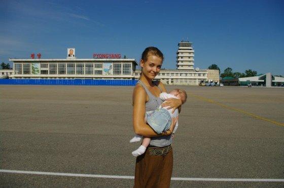 Asmeninio albumo nuotr./Milanos Jašinskytės kelionės po Šiaurės Korėją akimirka