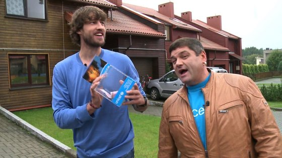 TV3 nuotr./Simas Jasaitis ir Vitalijus Cololo