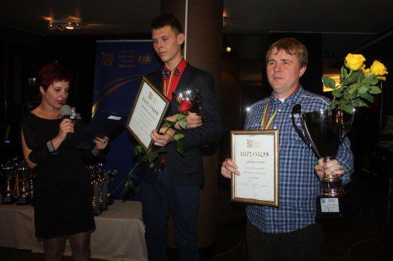 Tomo Markelevičiaus nuotr./Apdovanojimų akimirka