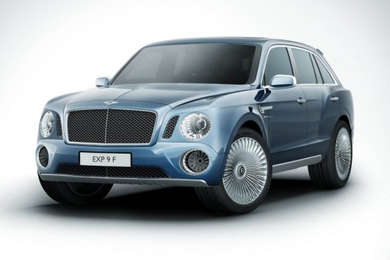 """Bentley"" nuotr./""Bentley EXP 9 F"" konceptinis modelis"