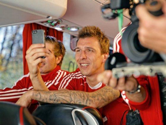 "MAN nuotr./FC ""Bayern"" autobusas MAN"