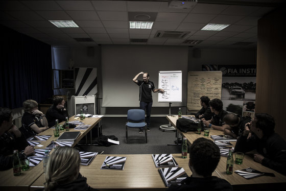 Organizatorių nuotr./FIA akademjos stovykla