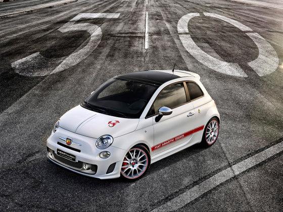 """""""Fiat"""" nuotr./""""Fiat Abarth 595 50th Anniversary edition"""""""