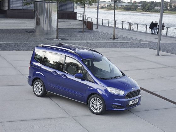 """""""Ford"""" nuotr./""""Ford Tourneo Courier"""""""