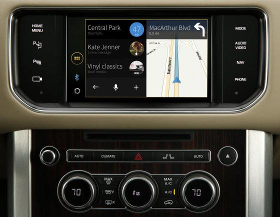 """Jaguar"" nuotr./""justDrive"" sistema"