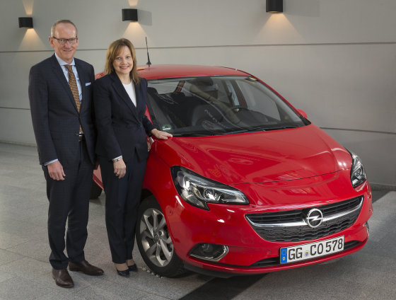 """""""Opel"""" nuotr./K.Thomas Neumannas ir M.Barra"""