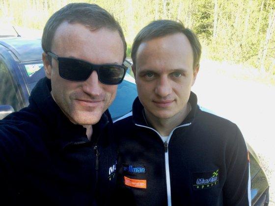 Komandos nuotr./M.Samuitis ir R.Šaučikovas