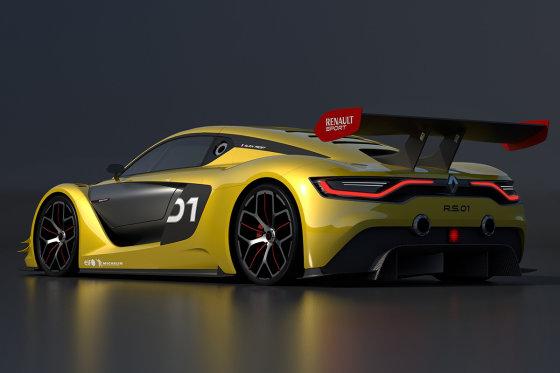 """Renault"" nuotr./""Renault Sport R.S. 01"""