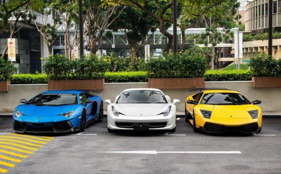 """Ahmengs Photoshots"" nuotr./""Singapore Exotic Cars Club"""