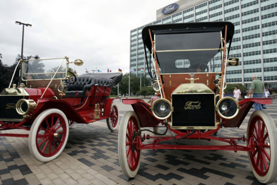 "1909-aisias pagaminti ""Ford"" automobiliai"