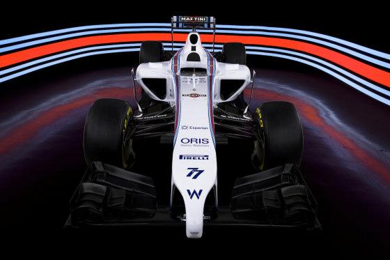 """Williams Martini Racing"" nuotr./""Williams Martini Racing"" komanda"