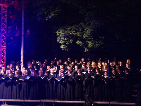 LLKC nuotr./Dainų šventės atidarymo koncertas