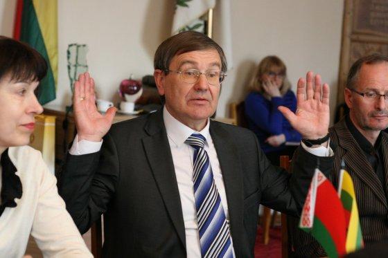 Alvydo Januševičiaus nuotr./Baltarusijos ambasadorius