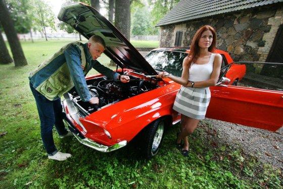 """Alvydo Januševičiaus nuotr./""""Ford Mustang"""" – JAV jaunimo svajonė jau 50 metų"""