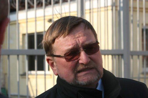 Alvydo Januševičiaus nuotr./Teisingumo ministras Juozas Bernatonis. Prezidentė Dalia Grybauskaitė Šiaulių tardymo izoliatoriuje