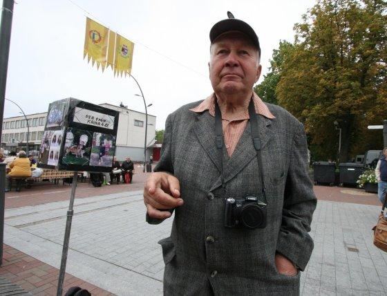 Alvydo Januševičiaus nuotr./Šiaulietis gatvės fotografas Klemensas Taurinskas